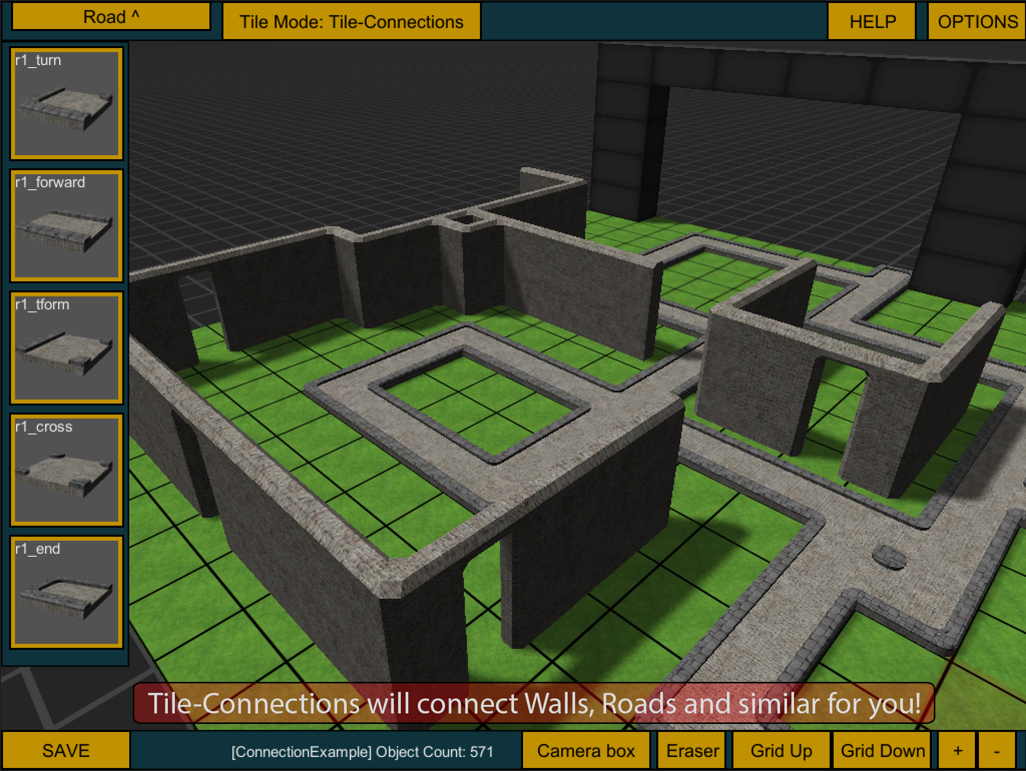 Protile map editor 2 unity editor extension for 3d building creator