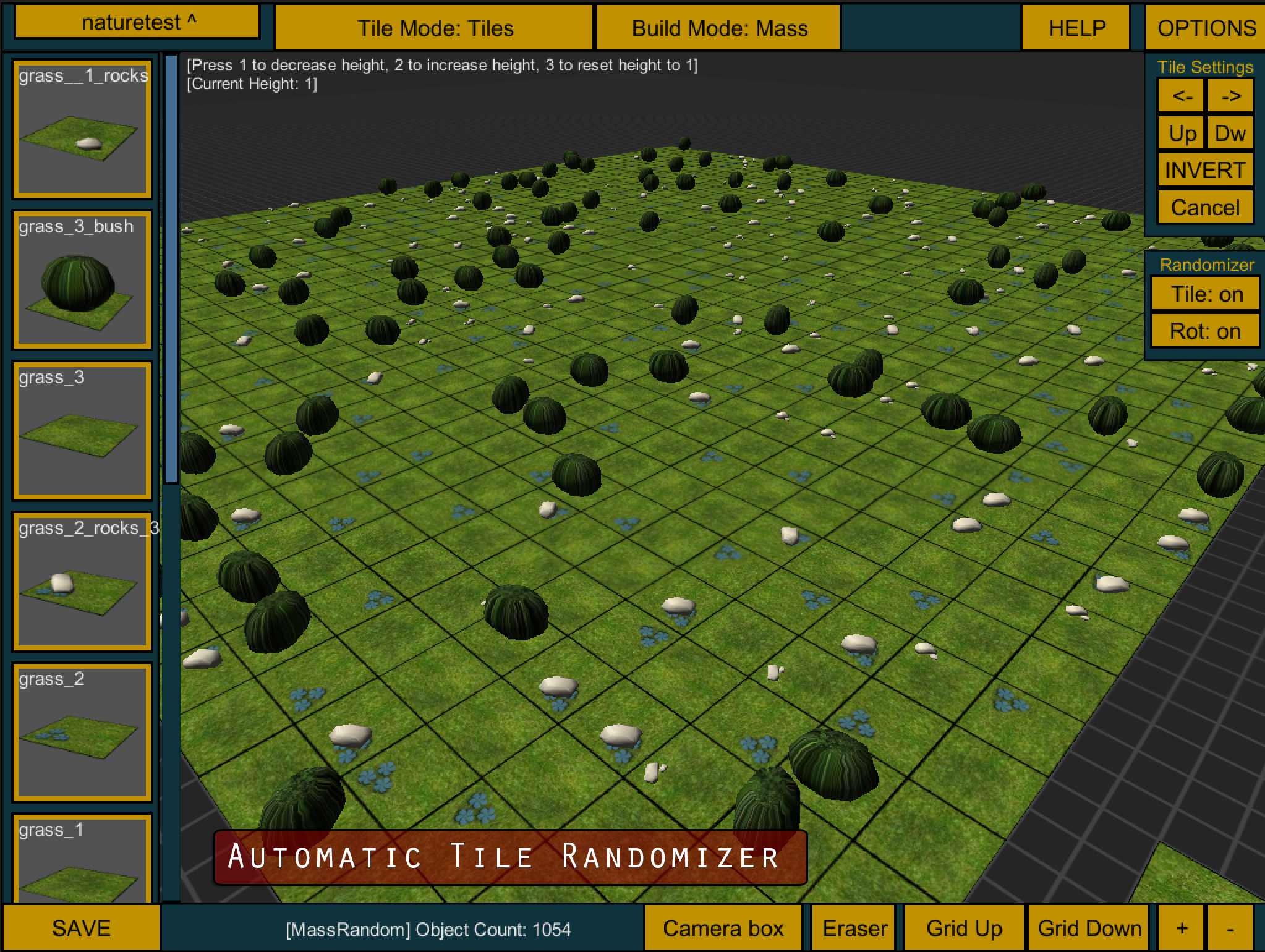 proTile Map Editor 2 | Unity Editor Extension